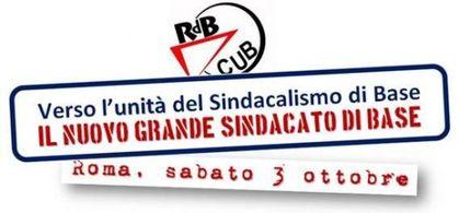 L'unità del sindacalismo di base