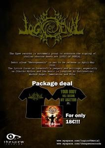 Necrogenesis - Package deal: CD + T-SHIRT